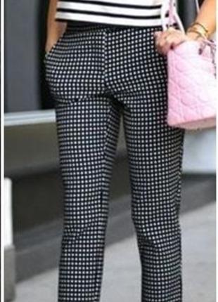 Теплые зауженные брюки р. 12 l  marks & spencer
