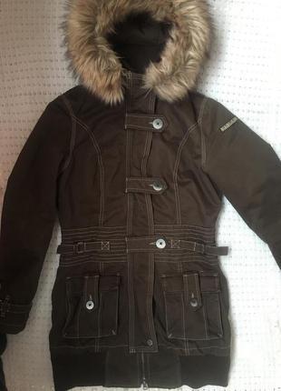 Куртка парка napapijri xs-s