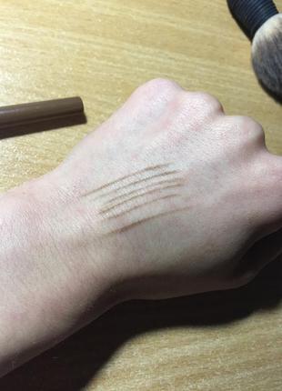 Тауповый карандаш для бровей nyx, оригинал
