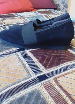 Новые кожаные,ортопедические туфли,лоферы,мокасины бренд-оригинал gabor.27см.по стельке.