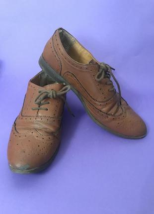 Оксфорды туфли