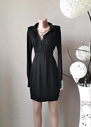 Изысканное, элегантное чёрное платье от denny rose.