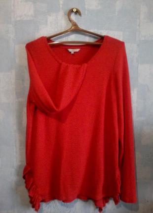 Кофта свитер красный next