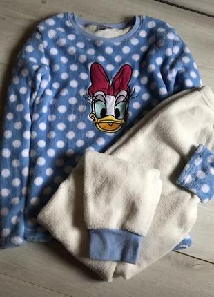 Тёплая пижама primark disney