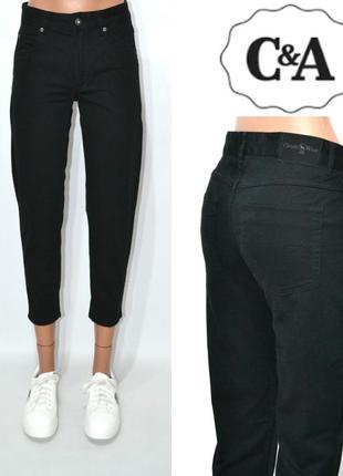 Джинсы момы бойфренды высокая посадка мом mom jeans c&a.