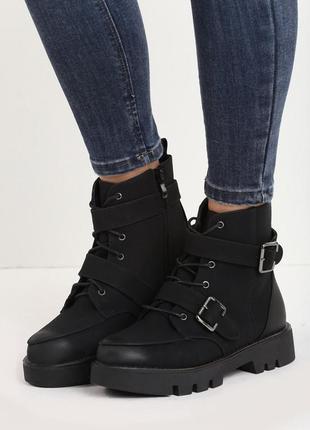 Новый ботинки осень-зима с утеплителем vices