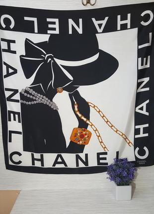 Нежный женский платок chanel