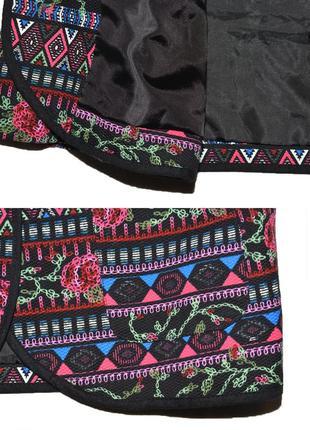 Пиджак жакет в вышивку atmosphere5 фото