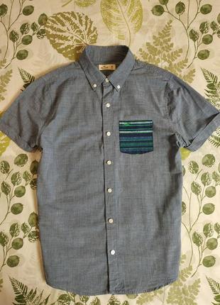 Брендовая рубашка hollister