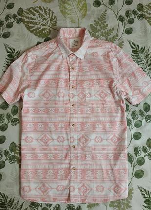 Фирменная рубашка этно стиль  easy