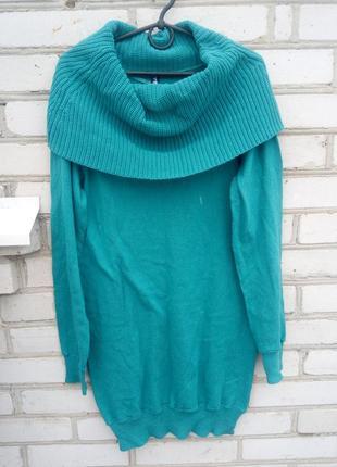 Длинный свитер размер l нюанс