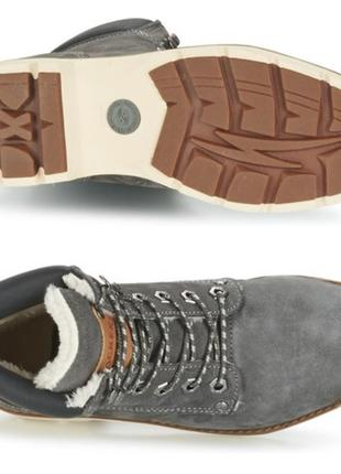 Зимние ботинки из натур. кожи европейского бренда dockers by gerli, р. 37, 38, 39, 40, 41