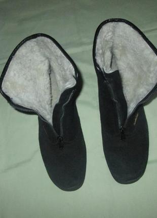 Зимние ботинки kandahar натуральный мех цегейка