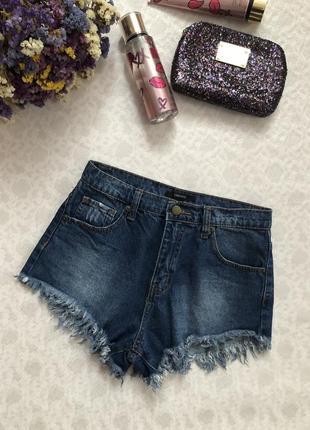 Forever 21 джинсовые шорты высокая талия , посадка , крутые , стильные .