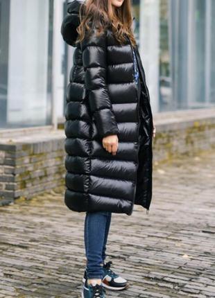 Тёплый стильный модный зимний женский пуховик
