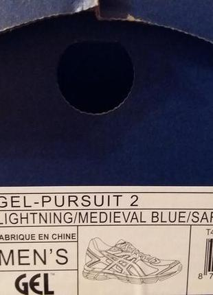 Мужские кроссовки asics gel-pursuit 24