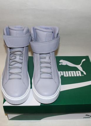 Кроссовки-ботинки puma platform mid 42,5р(28,5) пума платформа.оригинал