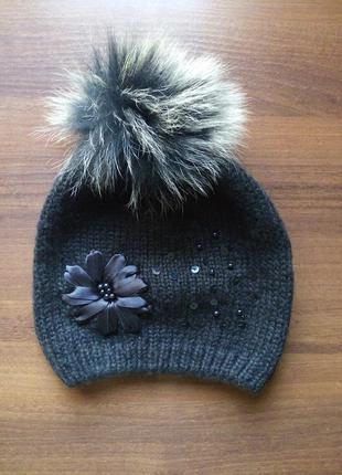 Черная шапочка