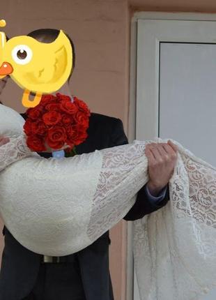 Платье свадебное(выпускное)