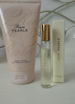 Духи + лосьон аvon rare pearls. раритет