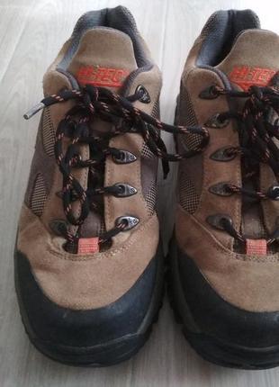 Треккинговые ботинки / кроссовки hi-tec