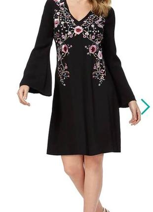 Очаровательное вышитое платье star  by julien macdonald