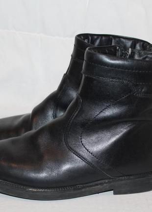 Теплые кожаные ботинки filanto 40-41. натуральная кожа