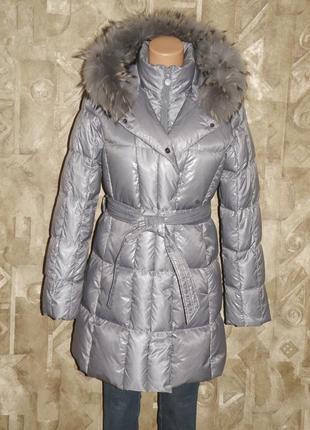 Пуховое пальто р.м