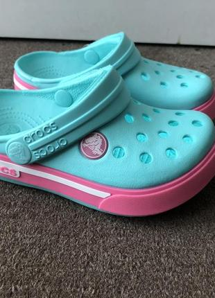 Кроксы детские крокбенд 2.5 оригинал / сабо crocs kids' crocband ii.5 clog (23-34)