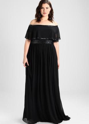 💫новогодние скидки 💫роскошное вечернее платье с изящно оголенными плечами