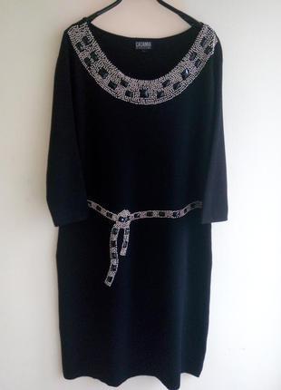 Платье трикотажное casamia o. l