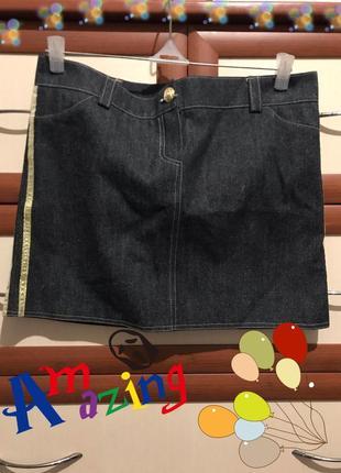 Мини юбка из джинсы 46рр