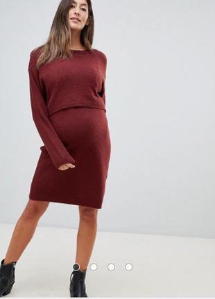 Платье для беременных и кормящих asos