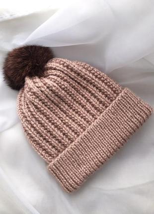 Обалденная шапочка, ручной работы