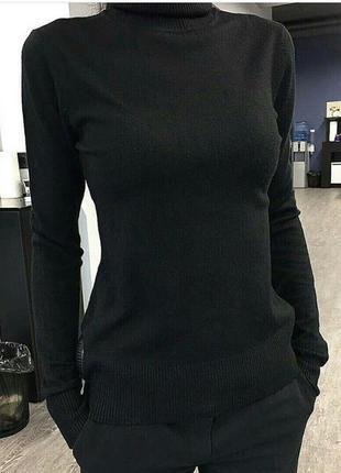 Гольф кашемир милано свитер с горлом теплый мягкий хит продаж 42-48