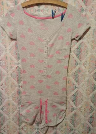 Ромпер для сна комбинезон пижама