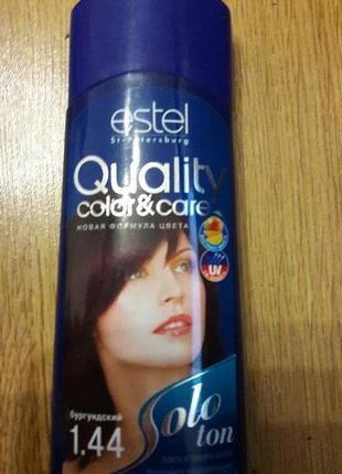 Бальзам для волос оттеночный estel solo ton №1.44 бургундия 150мл(просрочка)