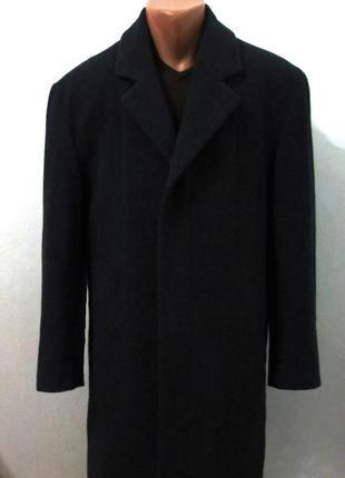 Шерстяное мужское пальто от canda размер: 66-6xl качество