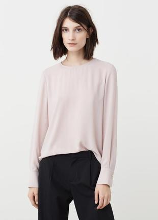 Блуза от mango пудрового цвета