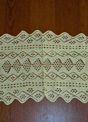 Старинная салфетка ручной работы
