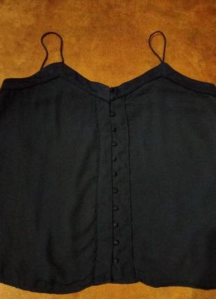 Нарядная блуза на бретелях от h&m.