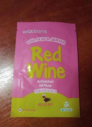 Культовая маска с красным вином tony moly
