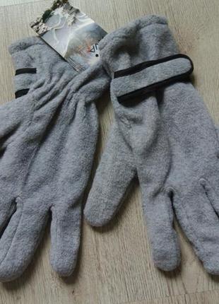 Флісові рукавиці чоловічі xxl/ флисовые перчатки мужские новые