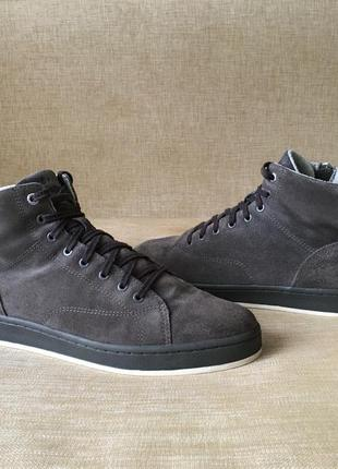 Замшевые сапоги, ботинки esprit, 45 р.