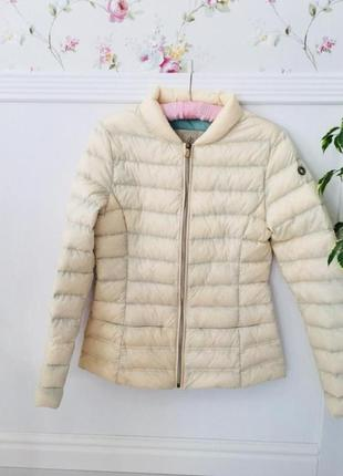 Reserved пуховик куртка демисезонная 90% пух