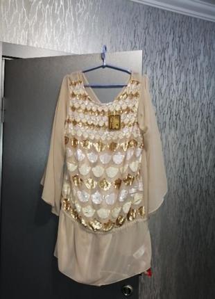 Шикарное новое праздничное платье