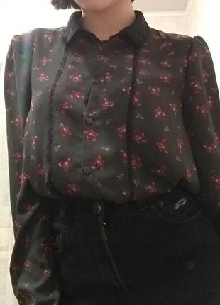 Шифоновая блузка , рубашка
