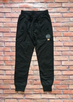 Спортивные штаны р. 134-164 для мальчика (чёрные). венгрия