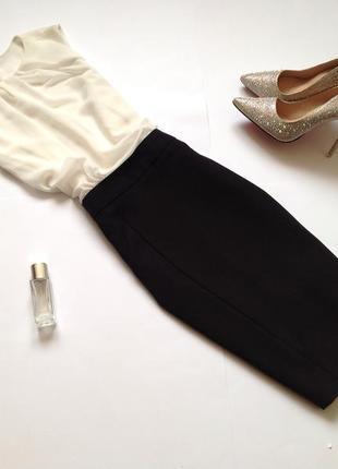 Бело-черное платье мини atmosphere. смотрите мои объявления!