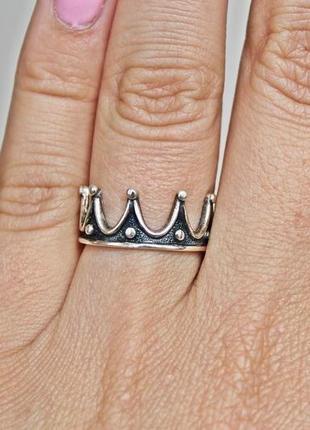 Серебряное кольцо шарлотта р.18,5